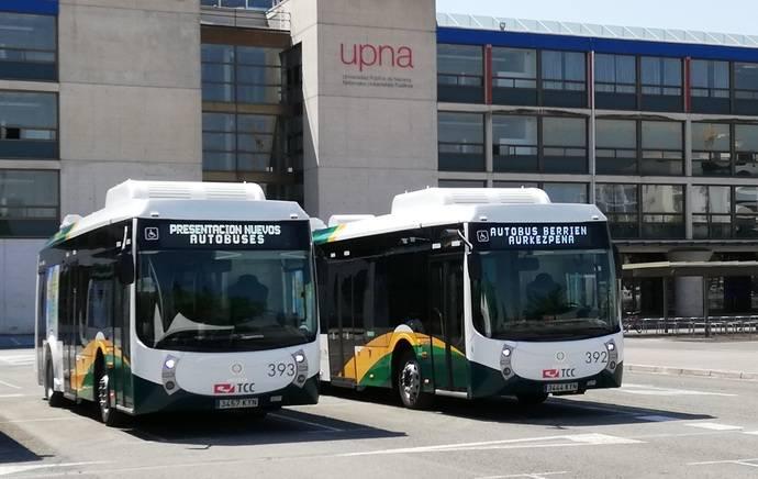 TCC Pamplona vuelve a confiar en los autobuses creados por Vectia