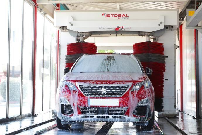 Istobal logra cero vertidos de agua en el lavado de vehículos