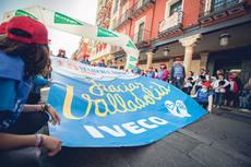 Más de 200 empleados de Iveco participan en la '40ª Marcha Asprona Valladolid'