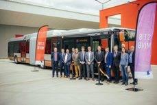 Bruselas recibe el primer híbrido de Urbanay Iveco Bus