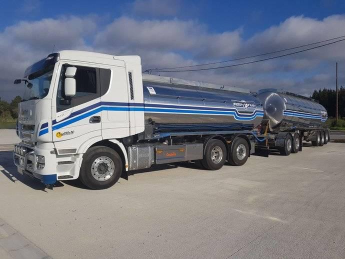 Cantalete presenta junto a Iveco el 'Megacamión Cisterna'