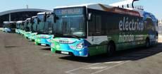 La flota de Urbanway Full Hybrid.