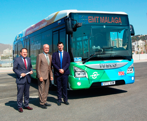 Málaga continua su apuesta por un transporte sostenible