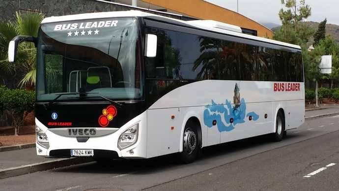 Iveco entrega cuatro autocares Evadys de última tecnología a Bus Leader