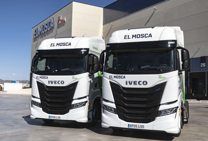 El Mosca renueva su flota con vehículos GNL de IVECO