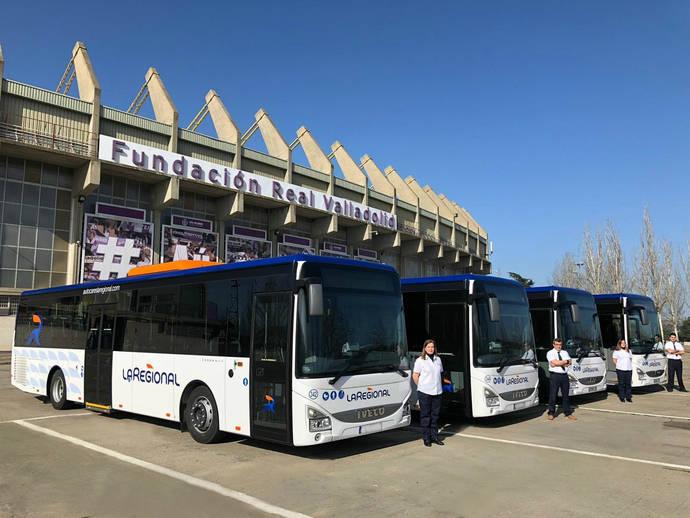 La Regional adquiere cuatro autobuses Iveco Bus Crossway para la ciudad de Valladolid