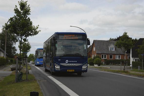 142 autobuses Iveco Bus Crossway más para el transporte público de Dinamarca