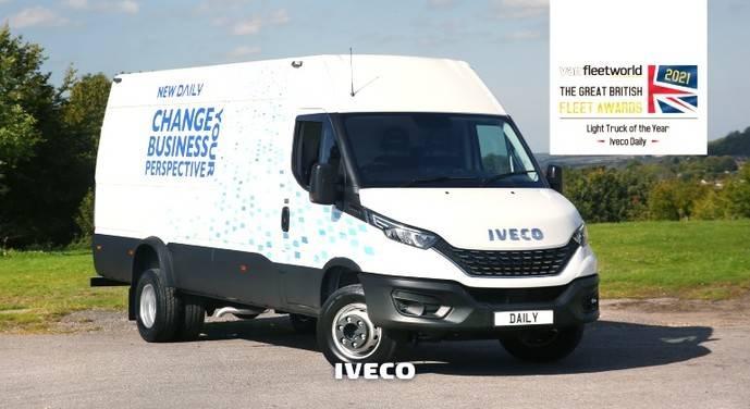 Iveco Daily, Vehículo Ligero del Año 2021