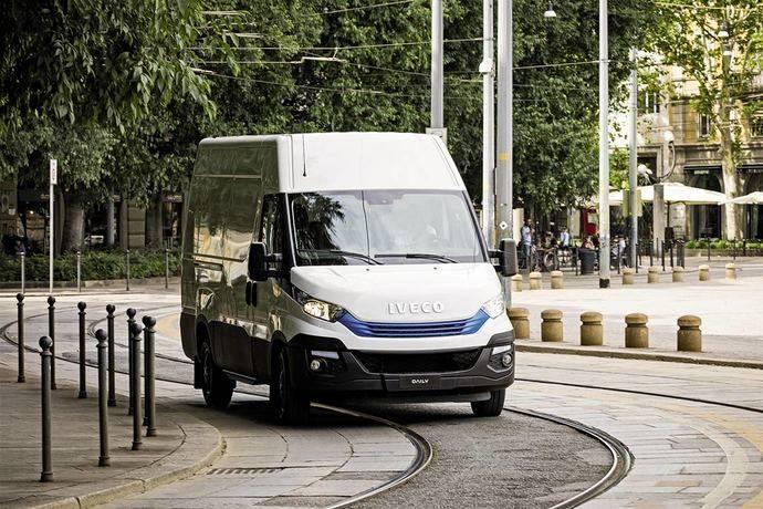 Nueva gama sostenible para entregas en zonas urbanas de Iveco Daily Blue Power