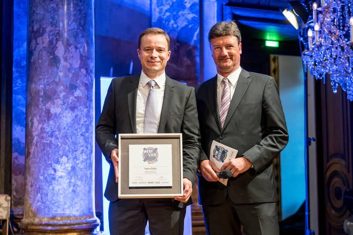 Iveco Daily, premiado triplemente en Alemania