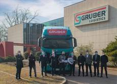 Flota de camiones Iveco S-WayGNL para Gruber