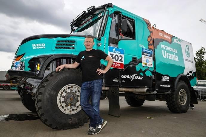 Tres camiones de Iveco participan en el Rally de la Ruta de la Seda