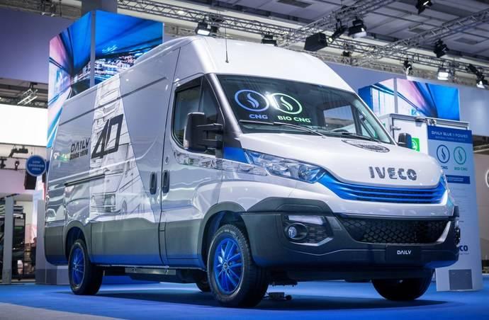 Iveco hace historia en la Feria IAA con su stand de bajas emisiones y 100% libre de diésel