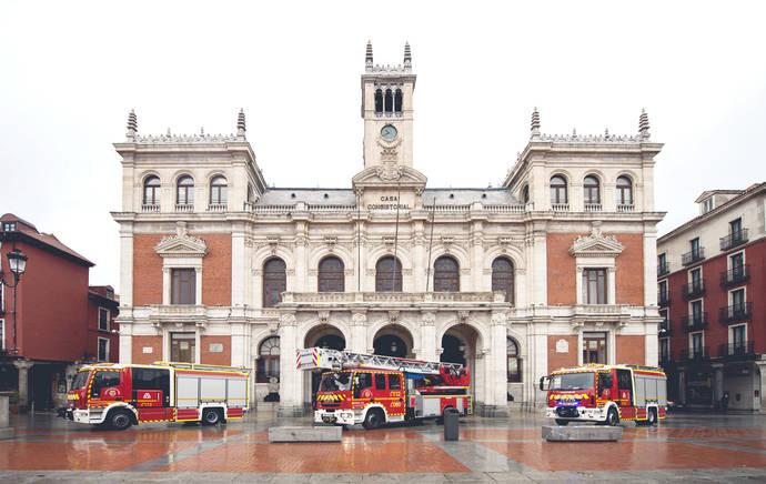 Valladolid posee los primeros Magirus doble cabina de España