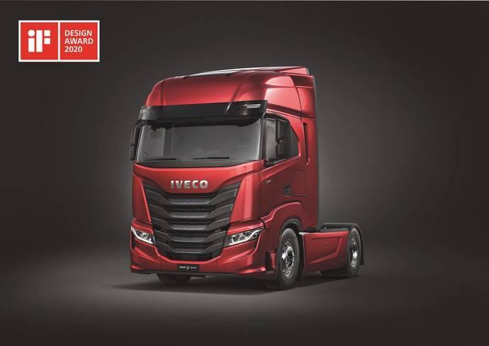 El Iveco S-Way es premiado con el iF Design Award