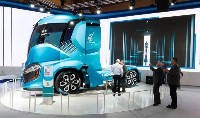 Iveco Z Truck: el 'concept truck'de impacto cero pionero de la 'energía verde'