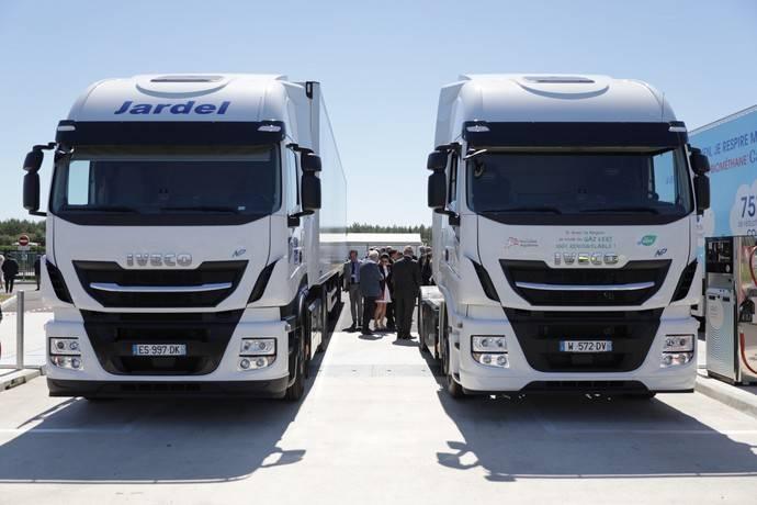 Iveco apoya la inauguración de una planta de biometano en Francia