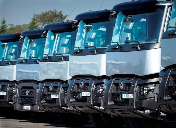 Grupo de camiones de Renault Trucks.