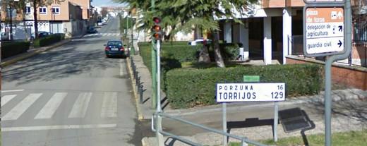 Una de las carreteras que llevan a Porzuna.