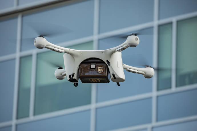 UPS se alía con Matternet, para mover muestras médicas con drones