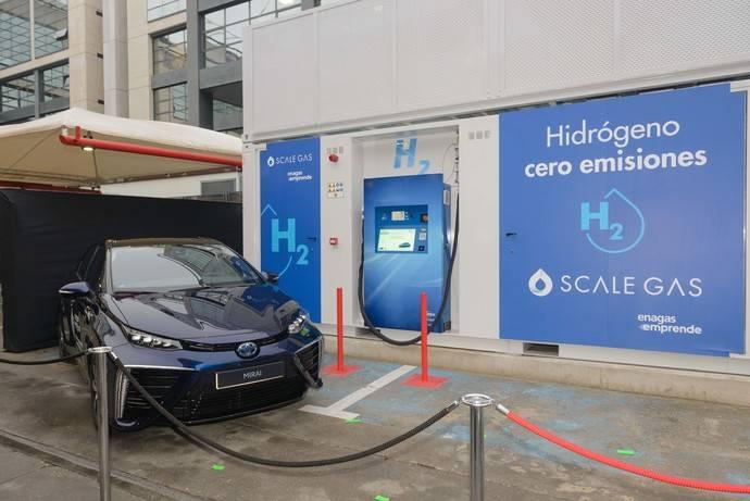 Inaugurada la primera hidrogenera en España, en Madrid