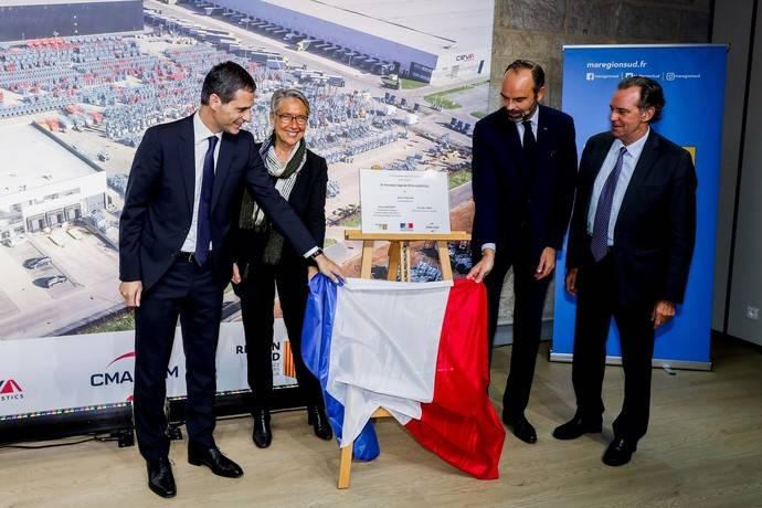 Édouard Philippe inaugura la nueva sede mundial de Ceva en Marsella