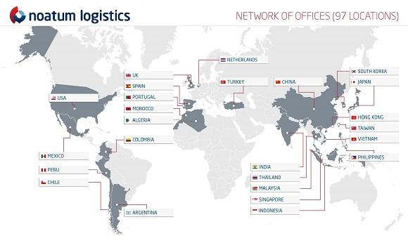 Noatum Logistics sigue creciendo en Asia y se implanta en Indonesia