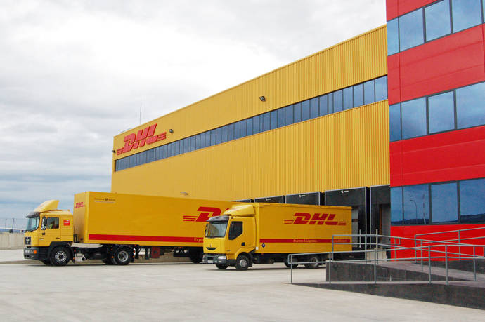 DHL amplia sus instalaciones en el aeropuerto de Foronda (Vitoria)