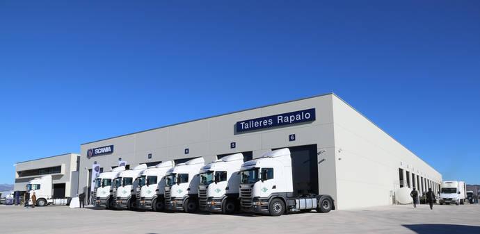 Scania inaugura las nuevas instalaciones de Talleres Rapalo