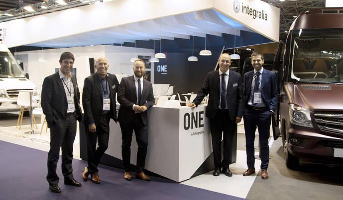 Integralia celebra 15 años en Francia, con su ONE en Autocar Expo de Lyon