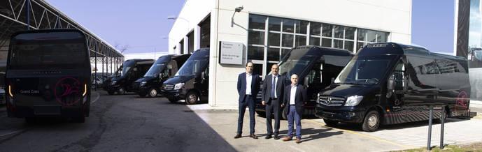 Integralia entrega seis microbuses ONE a Grand Class en Madrid