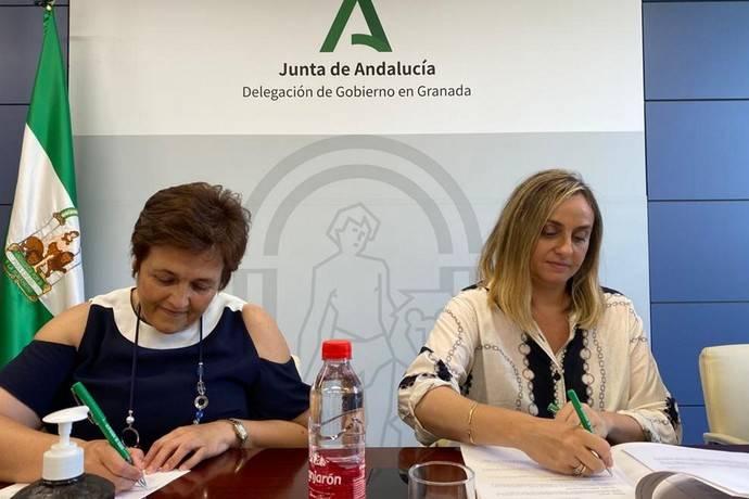 Andalucía y Huéscar acuerdan construir un intercambiador de autobuses