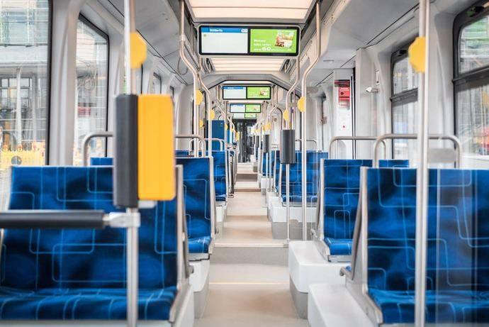 Interior del Solaris Tramino Leipzig.