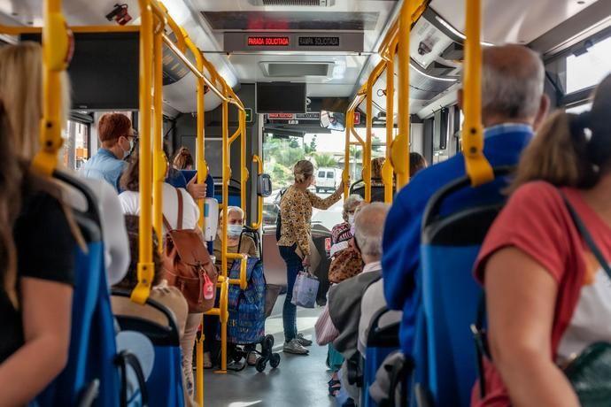 """""""Excelente"""" la calidad del aire de Guaguas Municipales, según un informe científico"""