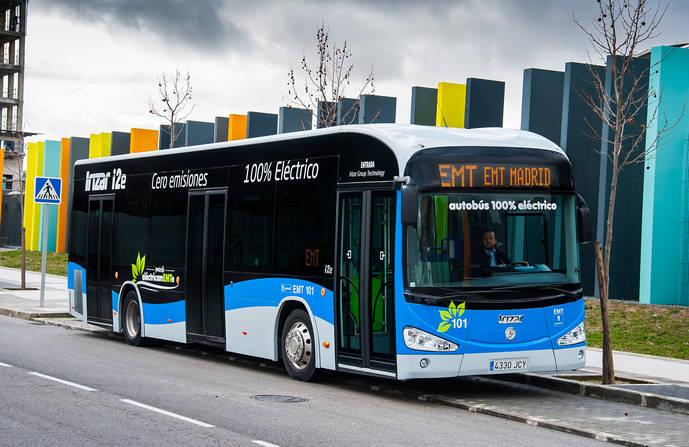 EMT de Madrid compra 89 autobuses adicionales para el periodo 2017-2018