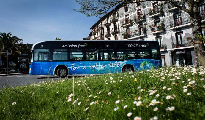 Irizar fabricará 10 autobuses eléctricos cero emisiones para Düsseldorf