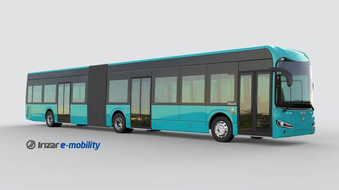Nueve autobuses articulados Irizar ie bus para Frankfurt