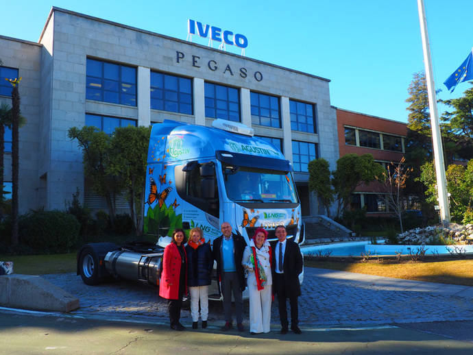 Transportes Agustín Martínez incorpora el Iveco Stralis NP 400 a su flota