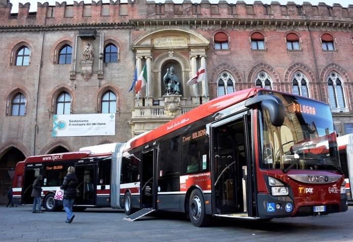 TPER Bolonia realiza su primera licitación de autobuses eléctricos