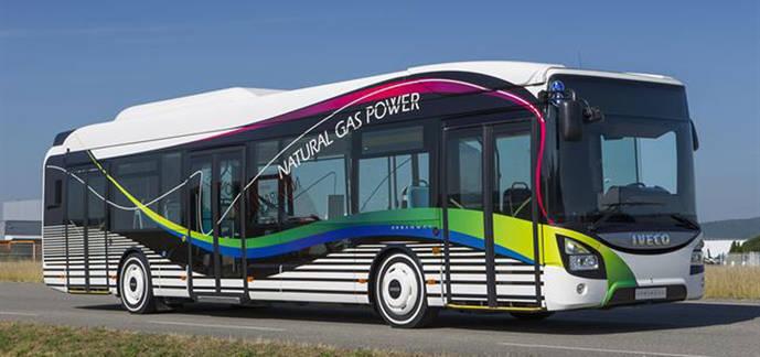 Un Iveco Urbanway Natural Power.