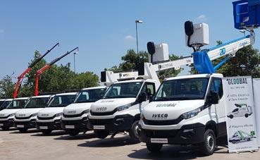 Gloobal recibe 50 unidades Iveco Daily Chasis Cabina