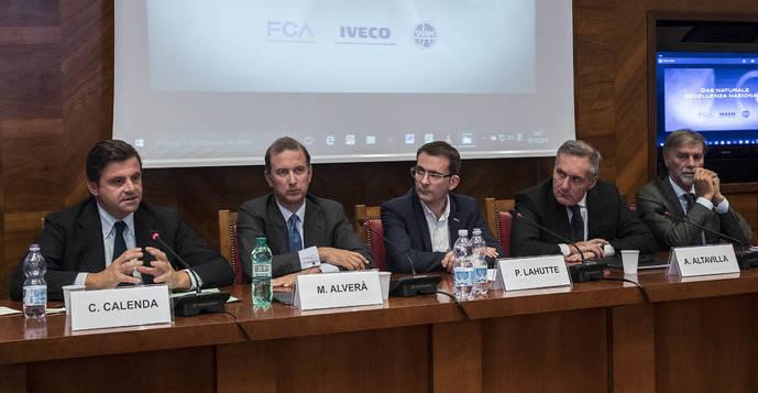 FCA, Iveco y Snam firman un Memorándum de Entendimiento
