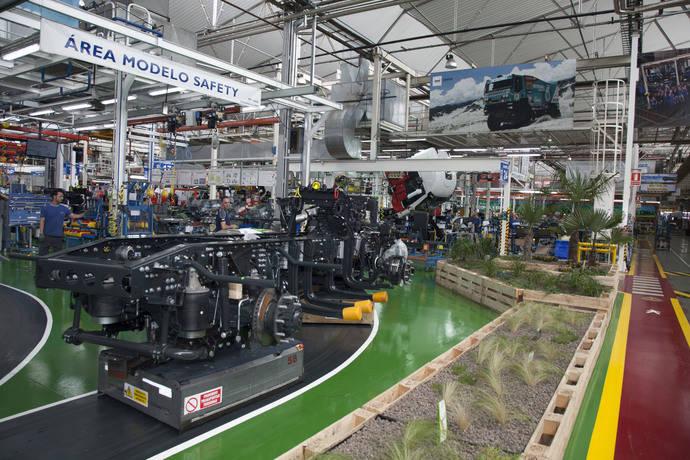 Las instalaciones de Iveco en Madrid.