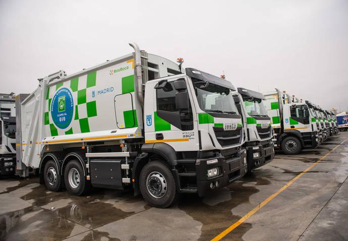 Iveco entrega al Ayuntamiento de Madrid 109 vehículos Stralis de gas natural