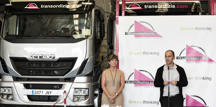 El primer camión de gas natural en cruzar Europa es un Iveco Nuevo Stralis