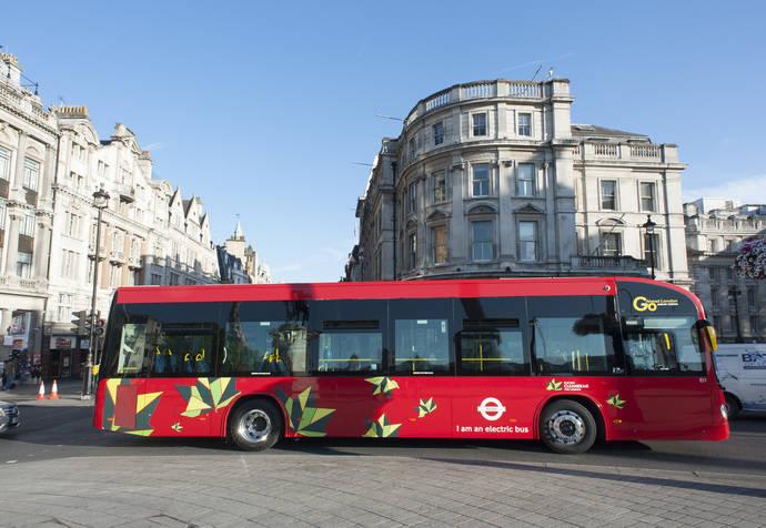 Resultados satisfactorios de los dos autobuses Irizar i2e 100% eléctricos en Londres