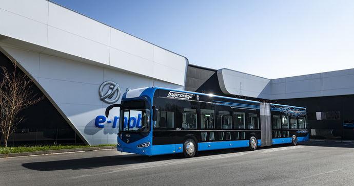 Primeros autobuses eléctricos de Irizar e-mobility presentados en Burgas