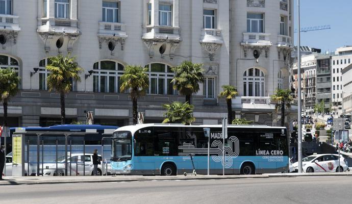 EMT Madrid suma 30 autobuses eléctricos más a su flota de Irizar e-mobility