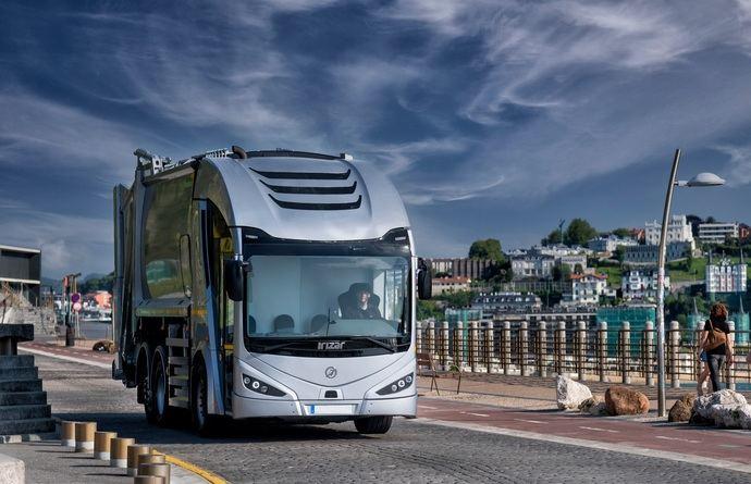 El camión eléctrico Irizar ie truck desembarca en Europa