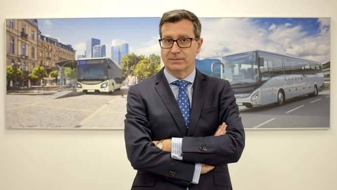 Javier Calvarro, nuevo director de Iveco Bus España y Portugal